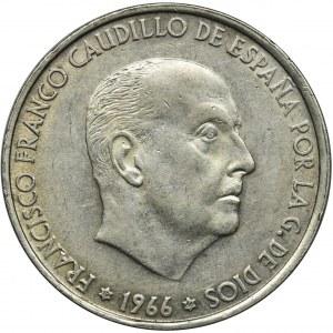 Hiszpania, Francisco Franco, 100 Peset 1966