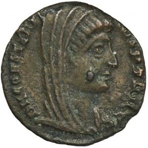 Cesarstwo Rzymskie, Konstantyn I Wielki, Follis pośmiertny