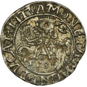 Zygmunt II August, Półgrosz Wilno 1558 - L/LITVA