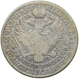 Polish Kingdom, 5 Zloty Warsaw 1830 FH