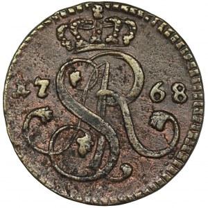 Poniatowski, Groschen Krakau 1768 G