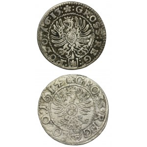 Zestaw, Zygmunt III Waza, Grosze (2 szt.)
