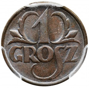 1 grosz 1925 - PCGS MS65 BN