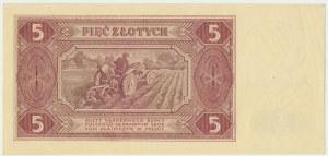 5 złotych 1948 - BA -