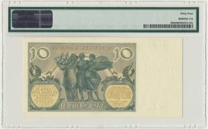 10 złotych 1929 - Ser.FT - PMG 64