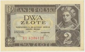 2 złote 1936 - BS -