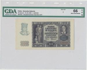 20 złotych 1940 - L - GDA 66 EPQ