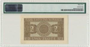 2 złote 1941 - AD - PMG 64