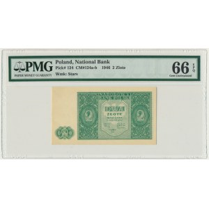 2 złote 1946 - PMG 66 EPQ