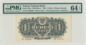 1 złoty 1944 ... owym - XT - PMG 64 EPQ