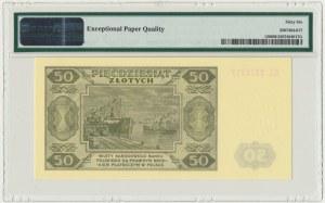 50 złotych 1948 - EL - PMG 66 EPQ