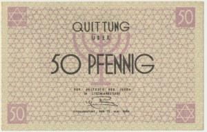 50 pfennig 1940 red numerator