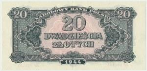 20 złotych 1944 ...owe - MP -