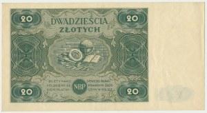 20 złotych 1947 - C -