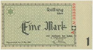 1 mark 1940 A series - 6 digit series -