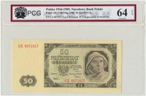 50 złotych 1948 - CZ - PCG 64 EPQ