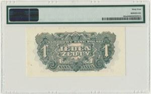 1 złoty 1944 ...owym - EY - PMG 64