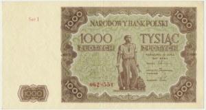 1.000 złotych 1947 - I -