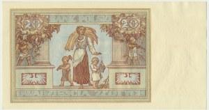 20 złotych 1931 - D.K -