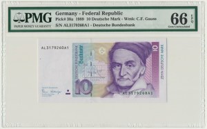 Niemcy, 10 marek 1989 - AL - PMG 66 EPQ