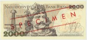 2.000 złotych 1977 - WZÓR A 0000000 No.0767 -