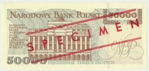 50.000 złotych 1993 - WZÓR A 0000000 No.0284 -