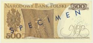 500 złotych 1974 - WZÓR K 0000000 No.1574 -
