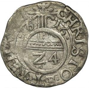 Pomorze, Księstwo szczecińskie, Filip II, Półtorak (Reichsgroschen) Szczecin 1616