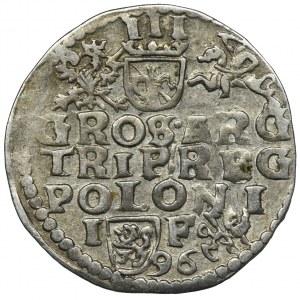 Zygmunt III Waza, Trojak Lublin 1596 - RZADKI