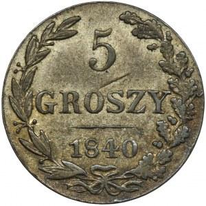 5 groszy Warszawa 1840 MW