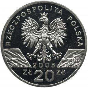 20 złotych 2005, Puchacz