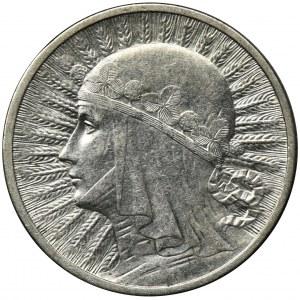 Głowa Kobiety, 2 złote 1932