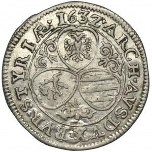 Austria, Ferdynand II, 3 Krajcary Graz 1632