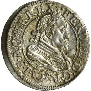 Austria, Ferdynand II, 3 Krajcary Graz 1637