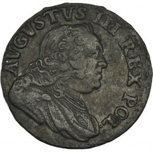 August III Sas, Szeląg Grünthal 1752
