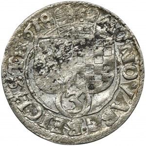 Śląsk, Księstwo Legnicko-Brzesko-Wołowskie, Jan Krystian Brzeski i Jerzy Rudolf Legnicki, 3 Krajcary Złoty Stok 1618