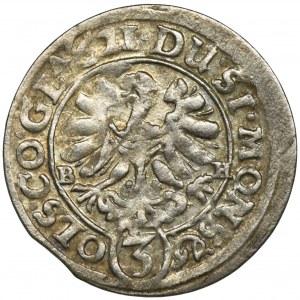 Śląsk, Księstwo Ziębicko-Oleśnickie, Henryk Wacław i Karol Fryderyk, 3 Krajcary Oleśnica 1621