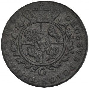 Poniatowski, Trojak Kraków 1766 G