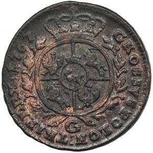 Poniatowski, Trojak Kraków 1767 G