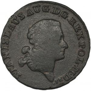 Poniatowski, Trojak Warszawa 1790 EB