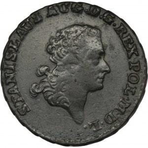 Poniatowski, Trojak Warszawa 1791 EB