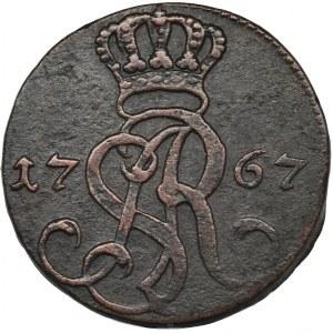 Poniatowski, Grosz 1767 g - FAŁSZERSTWO
