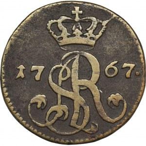 Poniatowski, Grosz Warszawa 1767 g