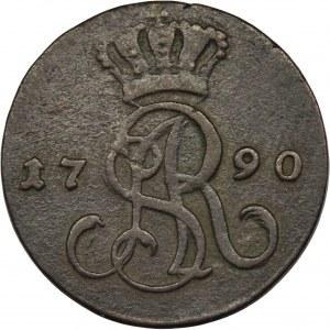 Poniatowski, Groschen Warsaw 1790 EB