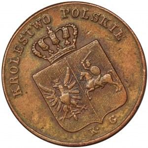November Uprising, 3 Groschen 1831 KG