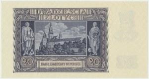20 złotych 1940 - A -