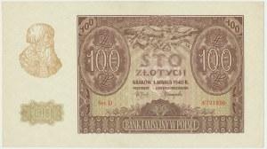 100 złotych 1940 - D -