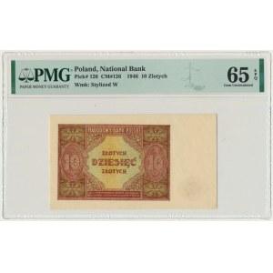 10 złotych 1946 - PMG 65 EPQ