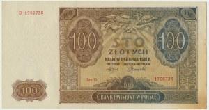 100 złotych 1941 - D -