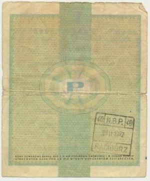 Pewex, 20 dolarów 1960 - Dh - z klauzulą -